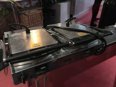 Lincat LPG2 - Double Twin Sandwich Panini Contact Grill - Used, working well