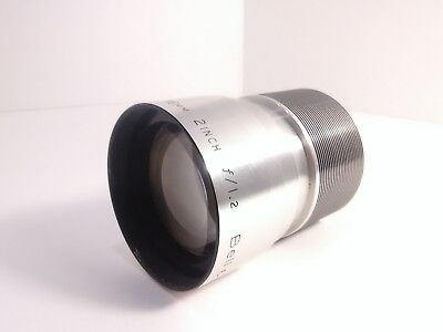 Bell And Howell 16Mm Lens 2 Inch F/1.2 Lens Fits Models 552-1552 Rare