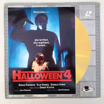 Laserdisc - Halloween 4 - Made In Uk By P.d.o - Ref 9972