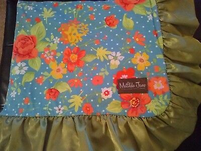 Matilda Jane No Reservations Blanket Camp MJC New With .99 Ship EUC