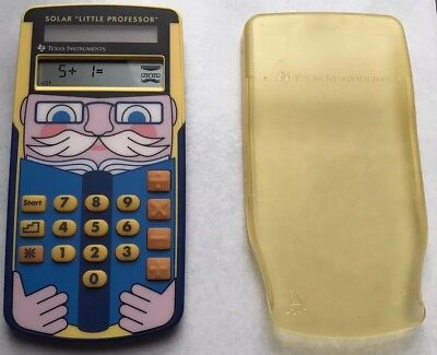 Texas Instruments - Solar Little Professor -  Kinder lernen spielerisch Mathe