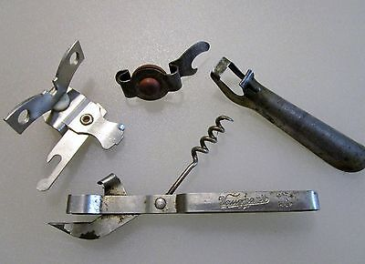 Lot EKCO 881 Miracle Roll TITE-FIT VAUGHAN'S ANCHOR Cap Bottle Opener  USA