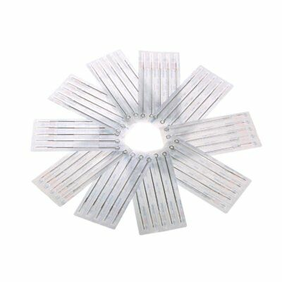Tattoo Needle Set Mixed Stainless Steel 50 Pieces pcs Tool Kit Round Liner
