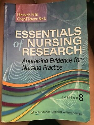 STUDY GUIDE FOR Essentials Of Nursing Research By Denise F