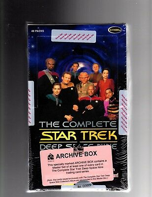 Star Trek The Complete Deep Space Nine Factory Sealled Archive Box
