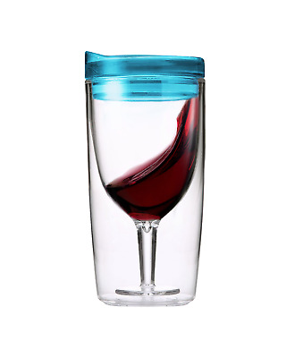 TraVino Wine Sippy Cup in Blue bottle 295mL