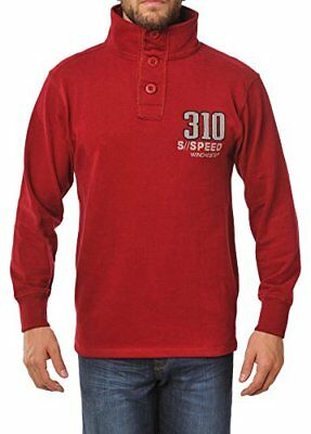 Winchester CURT2R Sweat col montant Taille XL Rouge