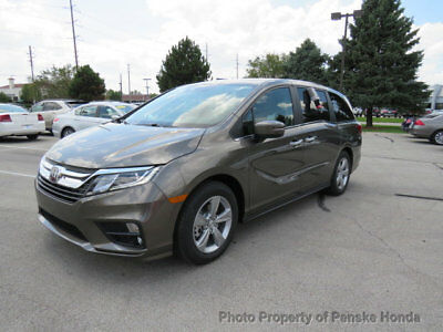Honda Odyssey EX Automatic EX Automatic New 4 dr Van Automatic Gasoline 3.5L V6 Cyl Pacific Pewter Metallli