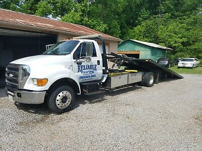 2007 Ford F650 Rollback Towtruck