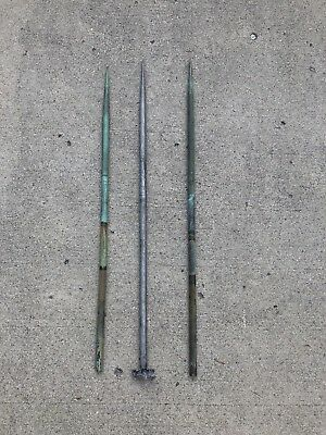 "Lot of (3) 30"" Lightning Rods Only"