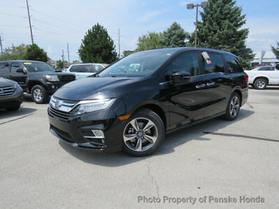 Honda Odyssey Touring Automatic Touring Automatic New 4 dr Van Automatic Gasoline 3.5L V6 Cyl Crystal Black Pear