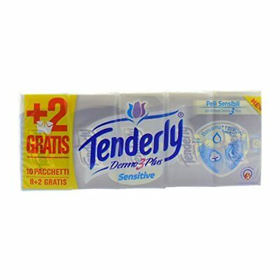 Tenderly Sensitive Pack de 8 Paquets de 10 Mouchoirs
