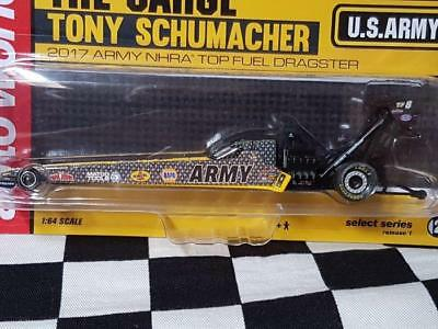 2017 Tony Schumacher, Leah Pritchett & Anton Brown 1:64th Top Fuel Dragsters