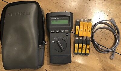 Fluke 620 LAN Cablemeter GREAT CONDITION AND WORKING W Accessories