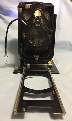 ICA Orix 308 Zeiss Dresden 10 x 15 folding plate camera Carl Zeiss lens 4.5 / 16