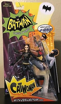 Catwoman Batman Classic TV Series Figure Mattel DC Comics Julie Newmar