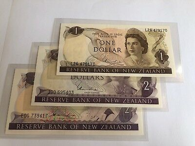 Lot of 3 Reserve BANK of NEW ZEALAND