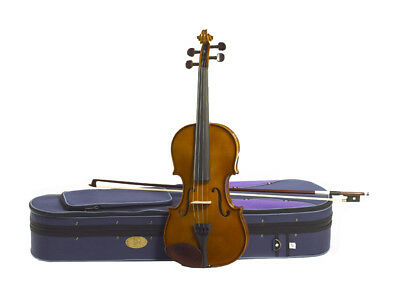 Violin Student 1/4 Stentor Set With Lightweight Case And Bow