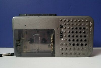 Realistic Micro 16 Voice Actuated 2-Speed Dictation Microcassette Tape Recorder