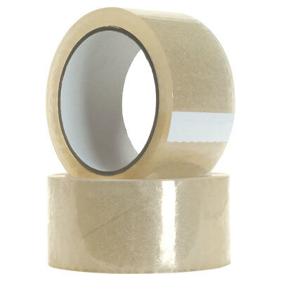 48mm x 80m Clear Packing Tape Packaging Tape Adhesive Bulk Buy Cheap