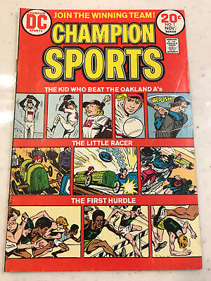 Champion Sports #1 DC Comic 1973-1974