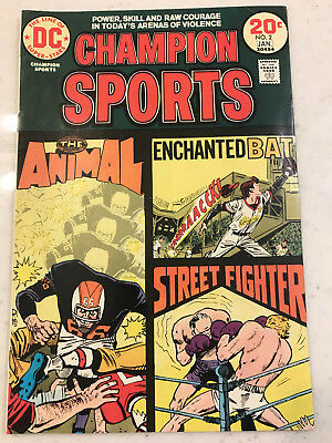 Champion Sports #2 DC Comic 1973-1974