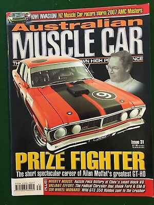 Australian Muscle Car Magazines Issues 31-40
