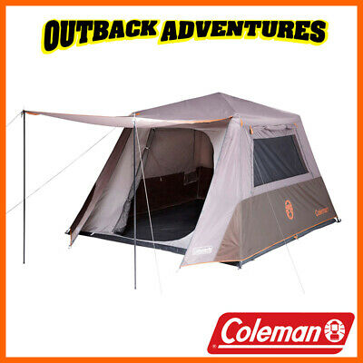 Coleman Instant Up 6P Tent Full Fly 6  Person Tourer Camping Tents
