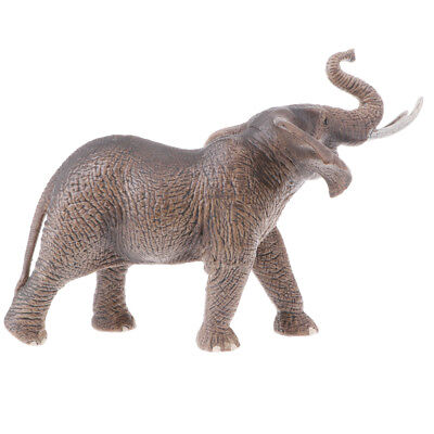 Realistic Elephant Animal Model Wild Life Role Play Figure Figurine Kids Toy
