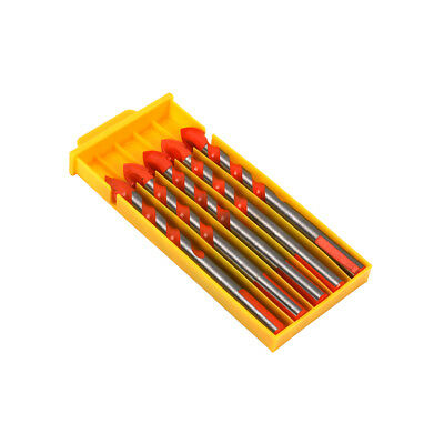 5Pcs 12MM Alloy Twist Drills Bits Triangle Impact Drill Rotary Tools For Cement