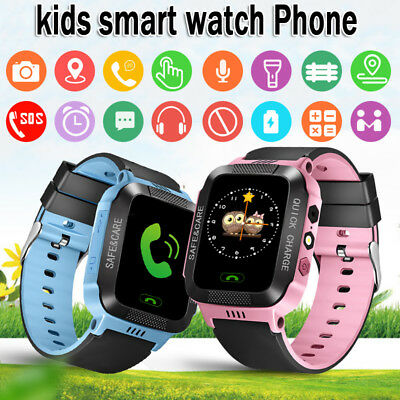 Children Kids Smart Wrist Watch LBS Tracker Anti-lost SOS Call Android&IOS Safe