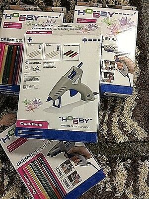 NEW BOXED Dremil glue gun 930 hobby craft and repairs +18 hot glue sticks