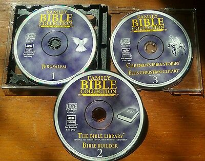 The Bible Collection Software (DVD, 3-Disc Set)