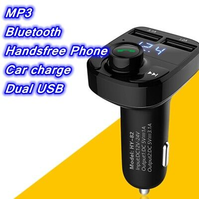 MP3 Radio Adapter Car Kit USB Charger Wireless In-Car Bluetooth FM Transmitter