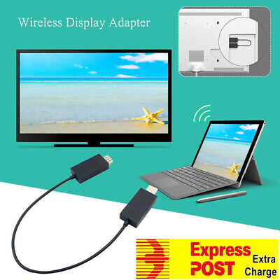 1080p Wireless Display Adapter Receiver HDMI & USB Port for Microsoft Surface