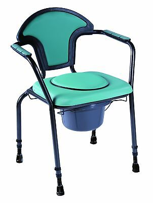 Patterson Medical Green Open Commode