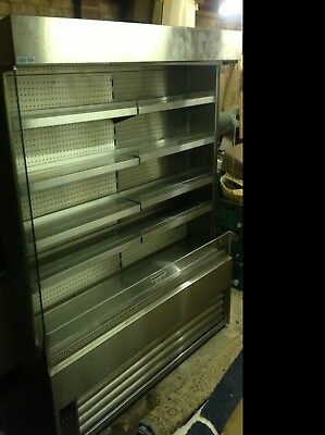 !!!!!!! Brand new frostec stainless steel display fridge never used !!!!!!!!!!