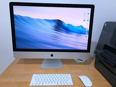 "Apple iMac (Retina 5K, 27"", i5 3.2GHz, 16GB DDR3, 3TB HDD, Late 2015 Model)"
