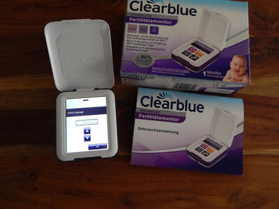 Clearblue Fertilitätsmonitor Advanced, 1 Touchscreen-Monitor GEBRAUCHT