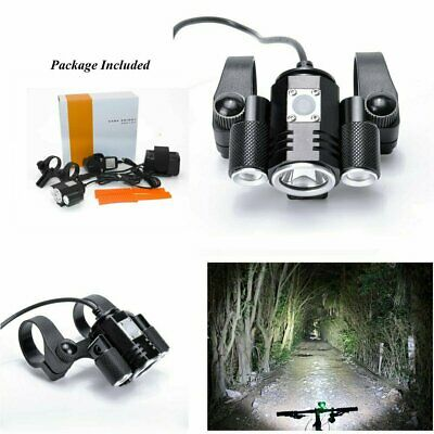 USB Rechargeable Bicycle CREE XML T6 LED Front Light Bike Led Headlamp Headlight
