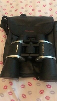 Praktica 12x50 Binoculars W12X50ZCF Black Silver Bird Watching Sports Events