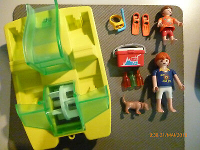 Playmobil (Tretboot) Seeleute Color 3656-A