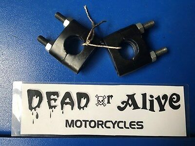 Mutt 125,  Handlebar Mounting Clamps (Pair)