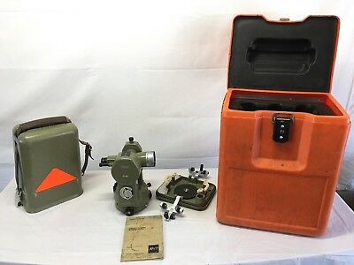 Kern Swiss K1-SE Engineer Theodolite With Case/Manual, Excellent Condition