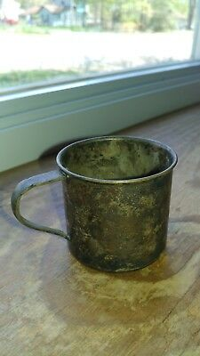 Antique/Vintage Wm Rogers & Son Silver plated  Baby Child's Cup, 1942