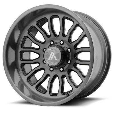 "4-22"" Inch 22x12 Asanti Off Road AB815 8x180 -40mm Titanium-Brushed Wheels Rims"