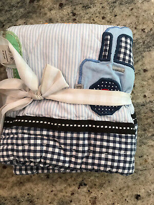 Pottery Barn Kids ABC Small Quilted Deco Sham NEW