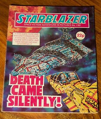 STARBLAZER - NO. 133 - DEATH CAME SILENTLY - Printed 1984