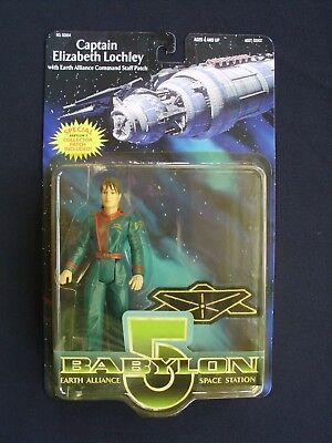 Babylon 5 - Series 4 - Captain Elizabeth Lochley - Action Figure with Patch