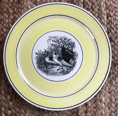 Vintage Villeroy Boch India Series Collectible Bird Plate # 6 Luncheon Plate